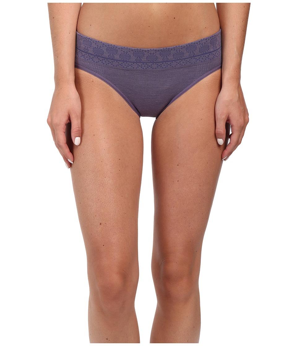 Smartwool - PhD Seamless Mid Rise Bikini (Desrt Purple) Women's Underwear