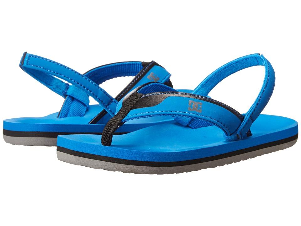 DC Kids - Grommet (Toddler) (Blue Radiance/Black) Boys Shoes