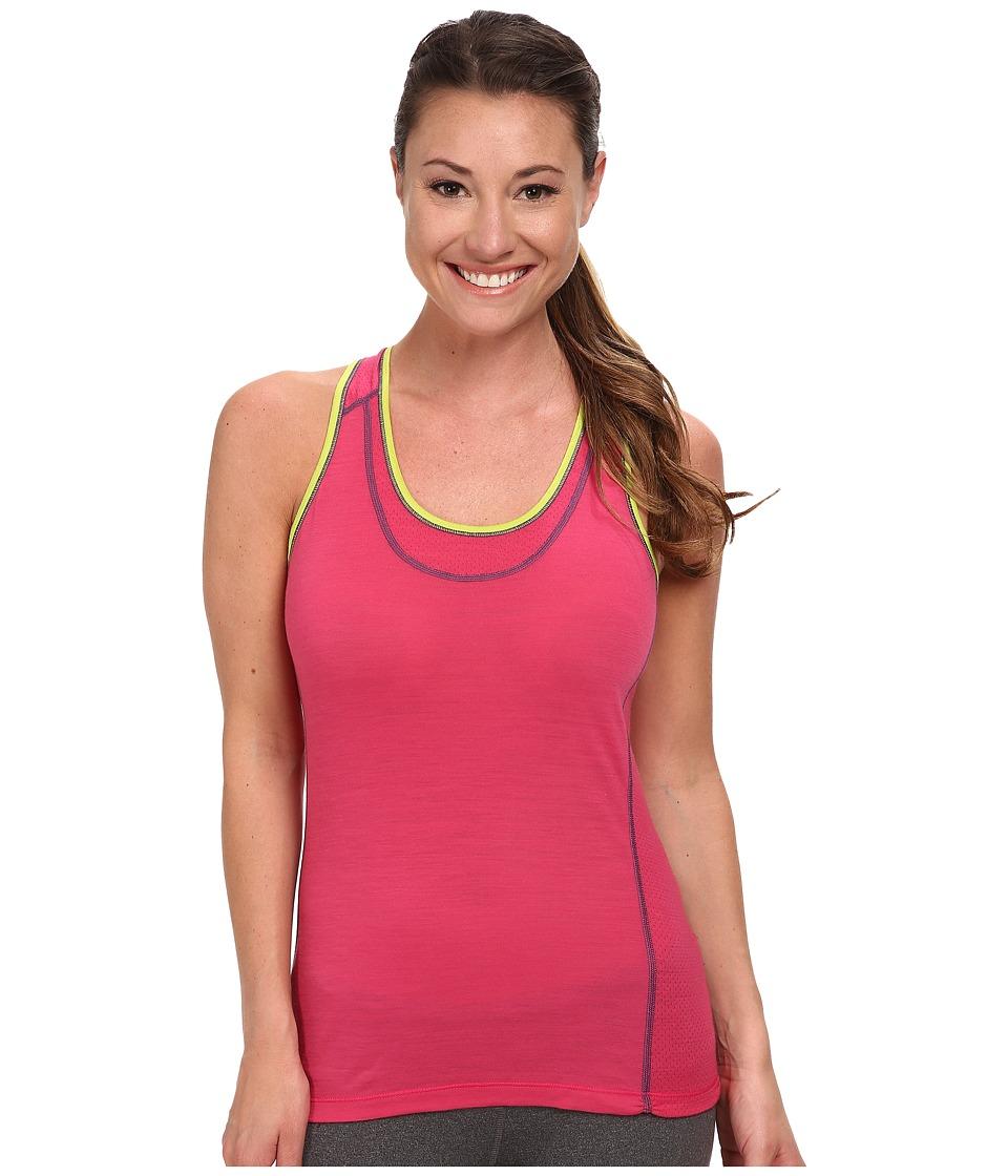 Smartwool - PhD Ultra Light Tank Top (Bright Pink) Women