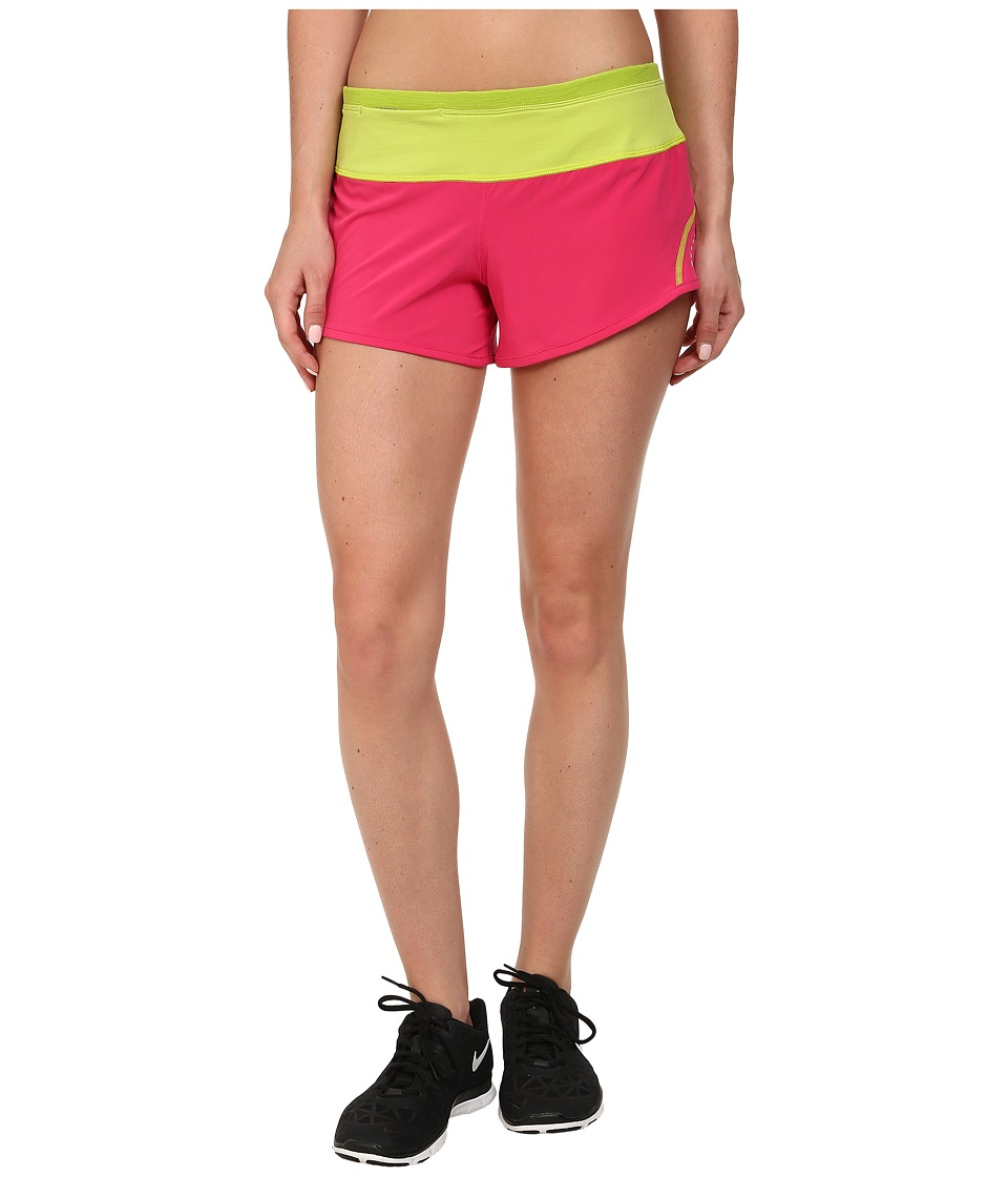 Smartwool - PhD Run Short (Bright Pink) Women's Shorts