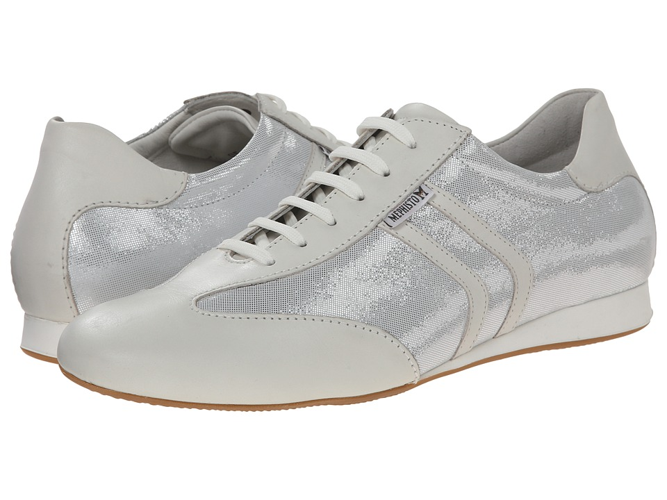 Mephisto - Barty (White Steve/Liz) Women's Lace up casual Shoes