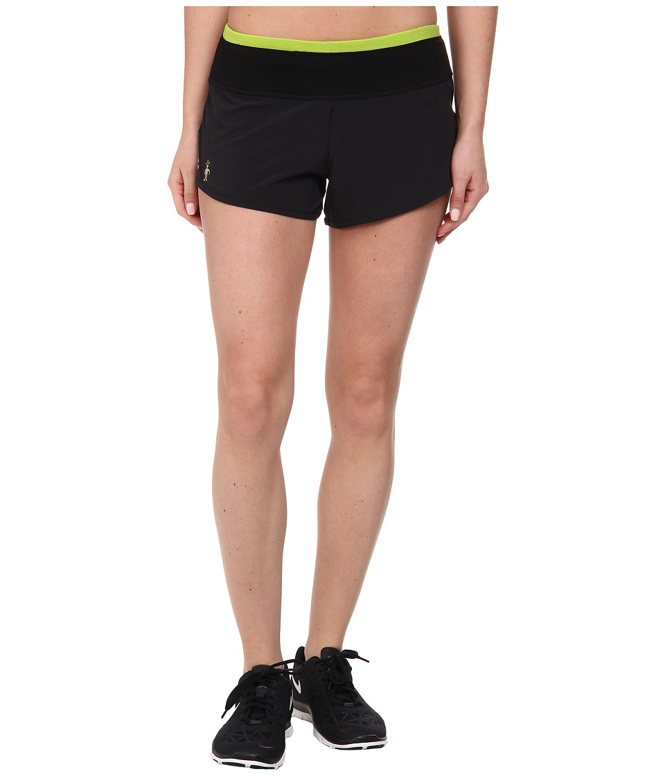 Smartwool - PhD Run Short (Black) Women's Shorts