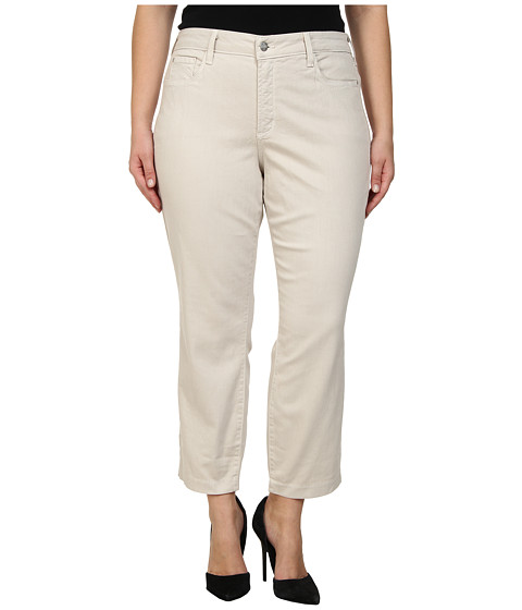 NYDJ Plus Size - Plus Size Audrey Ankle (Clay) Women's Casual Pants
