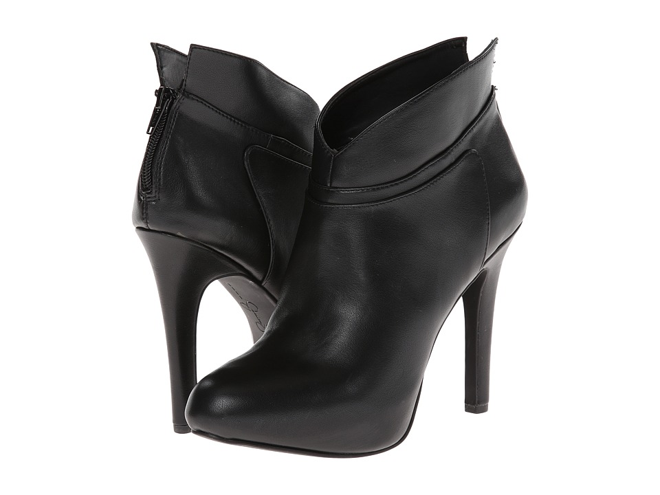 Jessica Simpson - Aggie Bootie (Black Sleek) Women's Boots