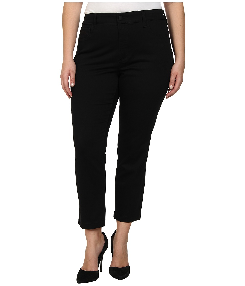 NYDJ Plus Size - Plus Size Audrey Ankle (Black) Women's Casual Pants