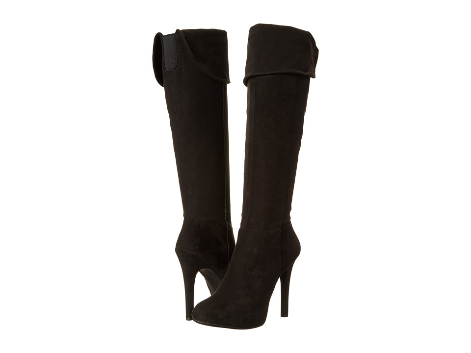 Jessica Simpson - Audrey Boot (Black Microsuede) Women