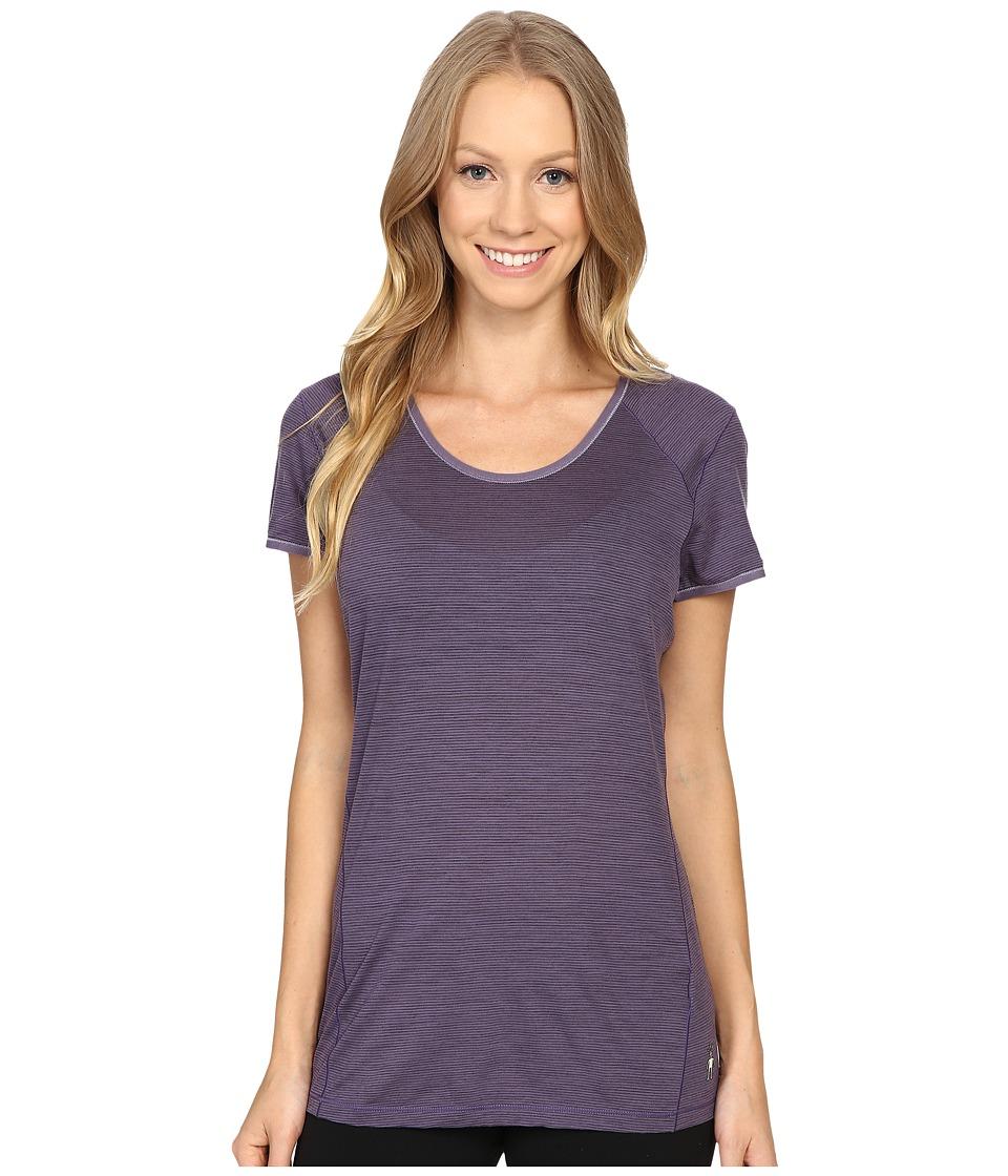 Smartwool - NTS Micro 150 Pattern Tee (Desert Purple) Women's T Shirt