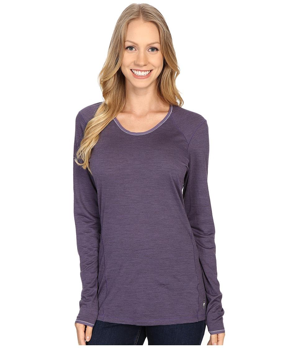 Smartwool - NTS Micro 150 Pattern Crew (Desert Purple) Women's Long Sleeve Pullover