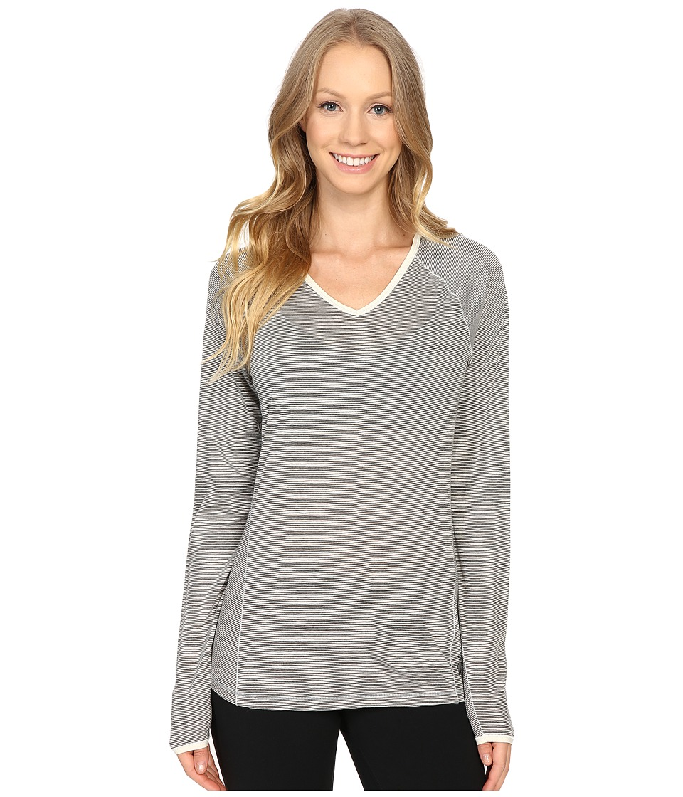 Smartwool - NTS Micro 150 Pattern Hoodie (Silver Gray Heather) Women's Long Sleeve Pullover