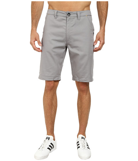 adidas Originals - Sport Luxe Twill Short (Charcoal Solid Gray/Black/Collegiate Gold) Men