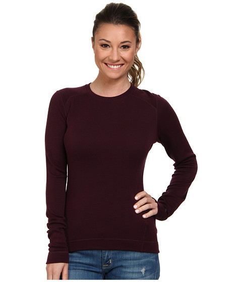 Smartwool - Midweight Crew (Aubergine Heather) Women