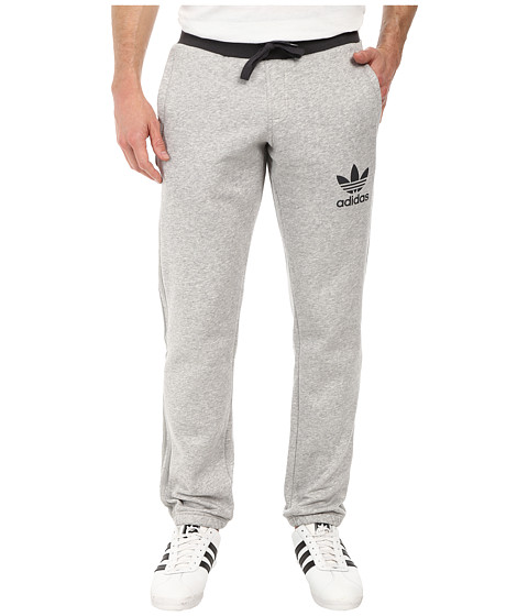 adidas Originals - Sport Essentials Sweatpants (Medium Grey Heather/Dark Grey) Men