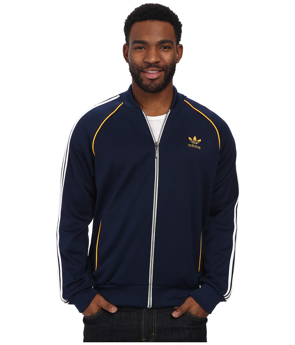 adidas Originals - SST Track Top (Collegiate Navy/White) Men's Sweatshirt