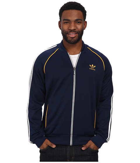 adidas Originals - SST Track Top (Collegiate Navy/White) Men