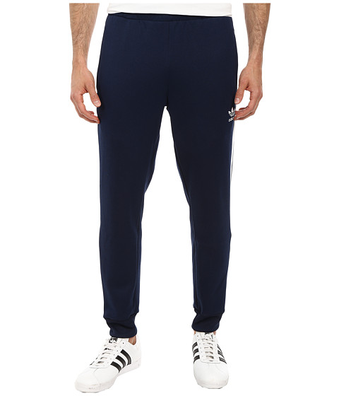 adidas Originals - SST Cuffed Track Pant (Collegiate Navy/White) Men's Casual Pants