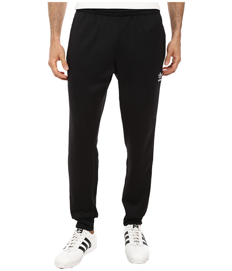 adidas Originals - SST Cuffed Track Pant (Black/White) Men