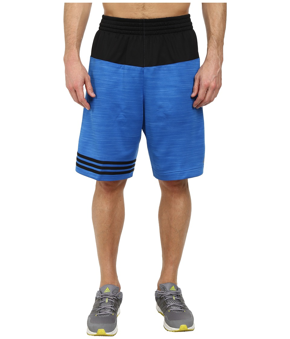 adidas - Team Speed Heather Short (Bright Royal/Black) Men's Shorts