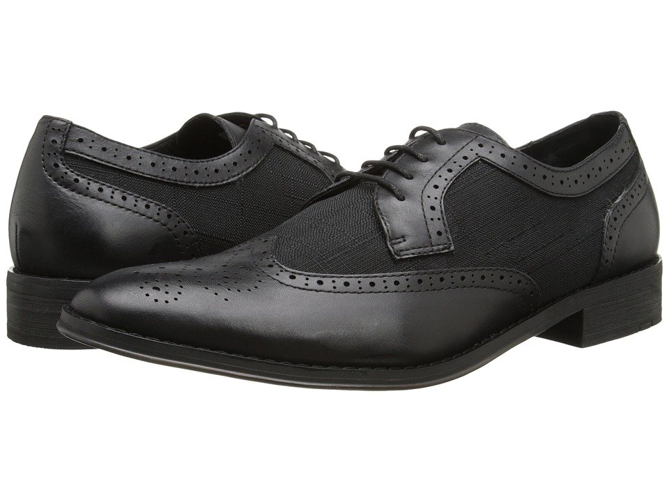 VIONIC - Roth (Black) Men's Lace Up Wing Tip Shoes