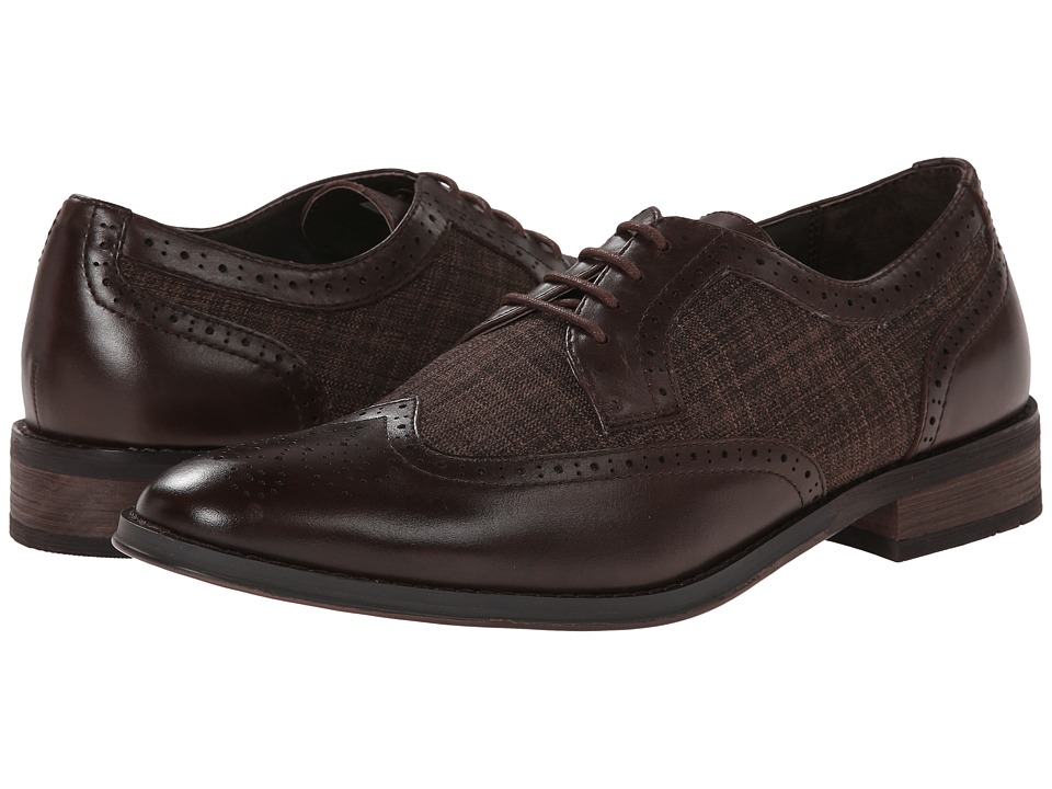 VIONIC - Roth (Chestnut) Men's Lace Up Wing Tip Shoes