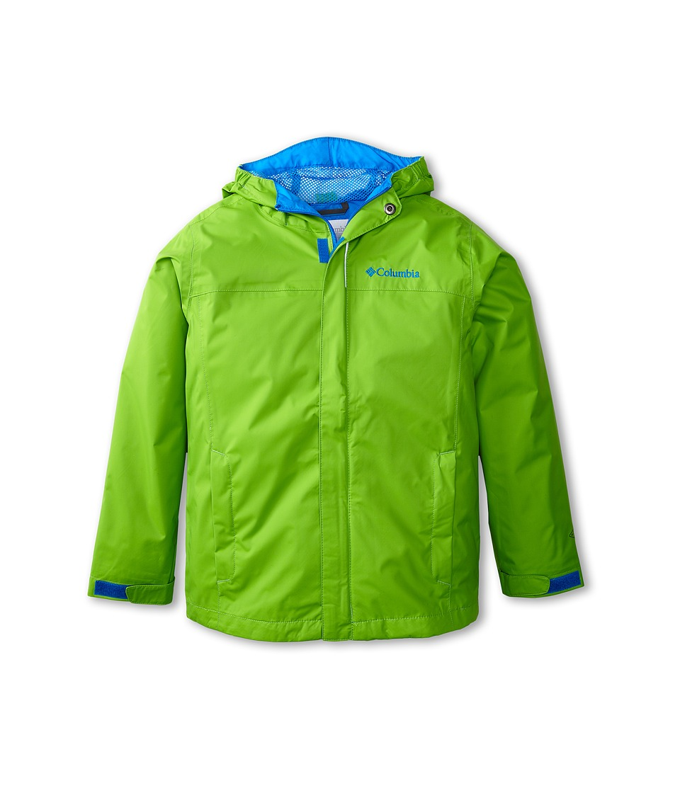 Columbia Kids - Watertight Jacket (Little Kids/Big Kids) (Cyber Green/Hyper Blue) Boy's Jacket