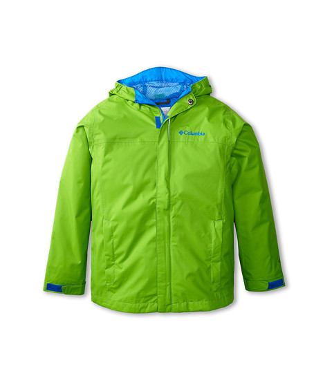 Columbia Kids - Watertight Jacket (Little Kids/Big Kids) (Cyber Green/Hyper Blue) Boy