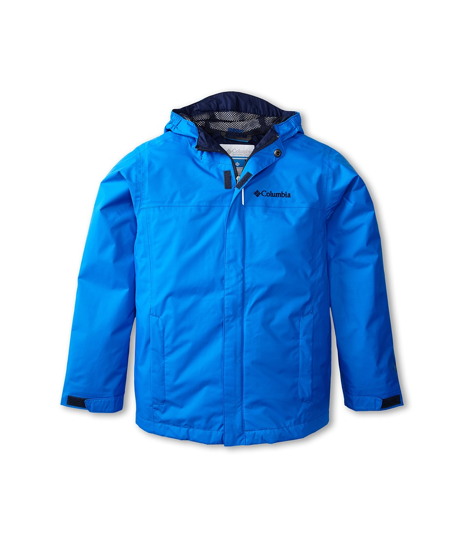 Columbia Kids - Watertight Jacket (Little Kids/Big Kids) (Hyper Blue/Collegiate Navy) Boy's Jacket