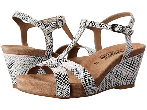 Mephisto - Batida (Light Grey Boa) Women's Sandals