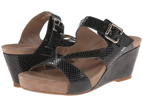 Mephisto - Beatrix (Black Reflet) Women's Sandals
