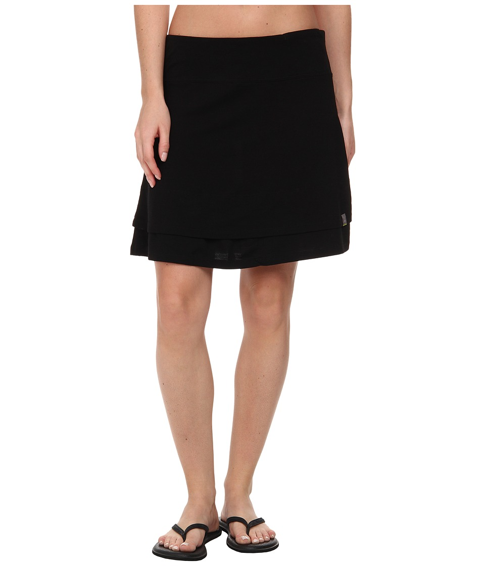 Smartwool - Seven Falls Skirt (Black) Women's Skirt