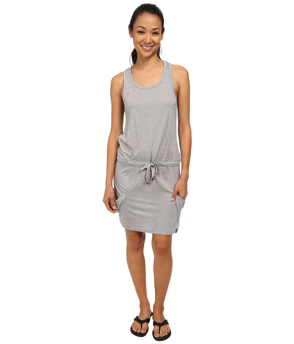 Smartwool - Seven Falls Tunic (Light Gray) Women's Clothing