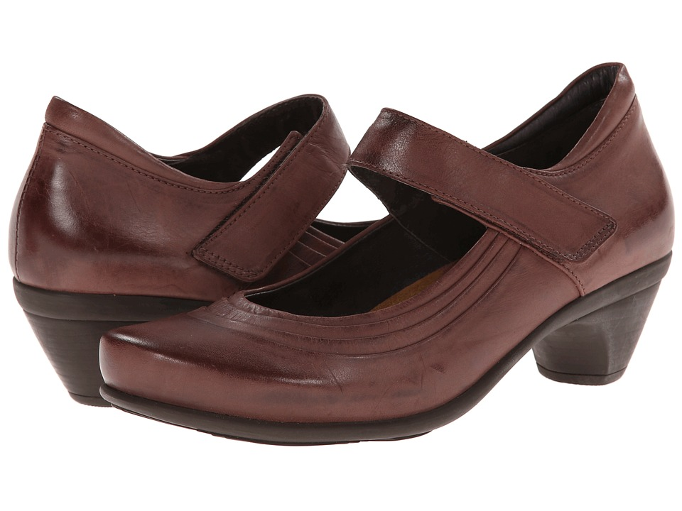 Naot Footwear - Extreme (Brushed Plum Brown Leather) Women's Shoes