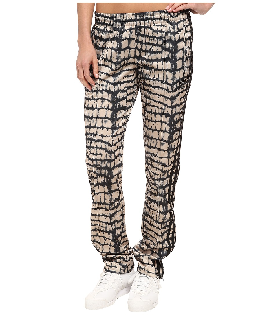 adidas Originals - Firebird Track Pant (Black/Dust Sand) Women
