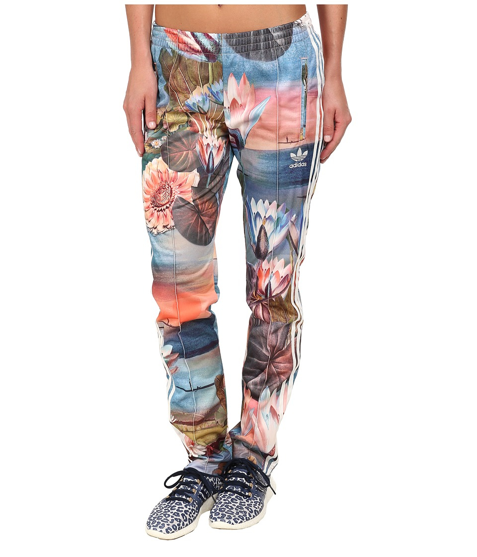 adidas Originals - Curso D'agua Firebird Track Pant (Multicolor Print/White) Women's Casual Pants