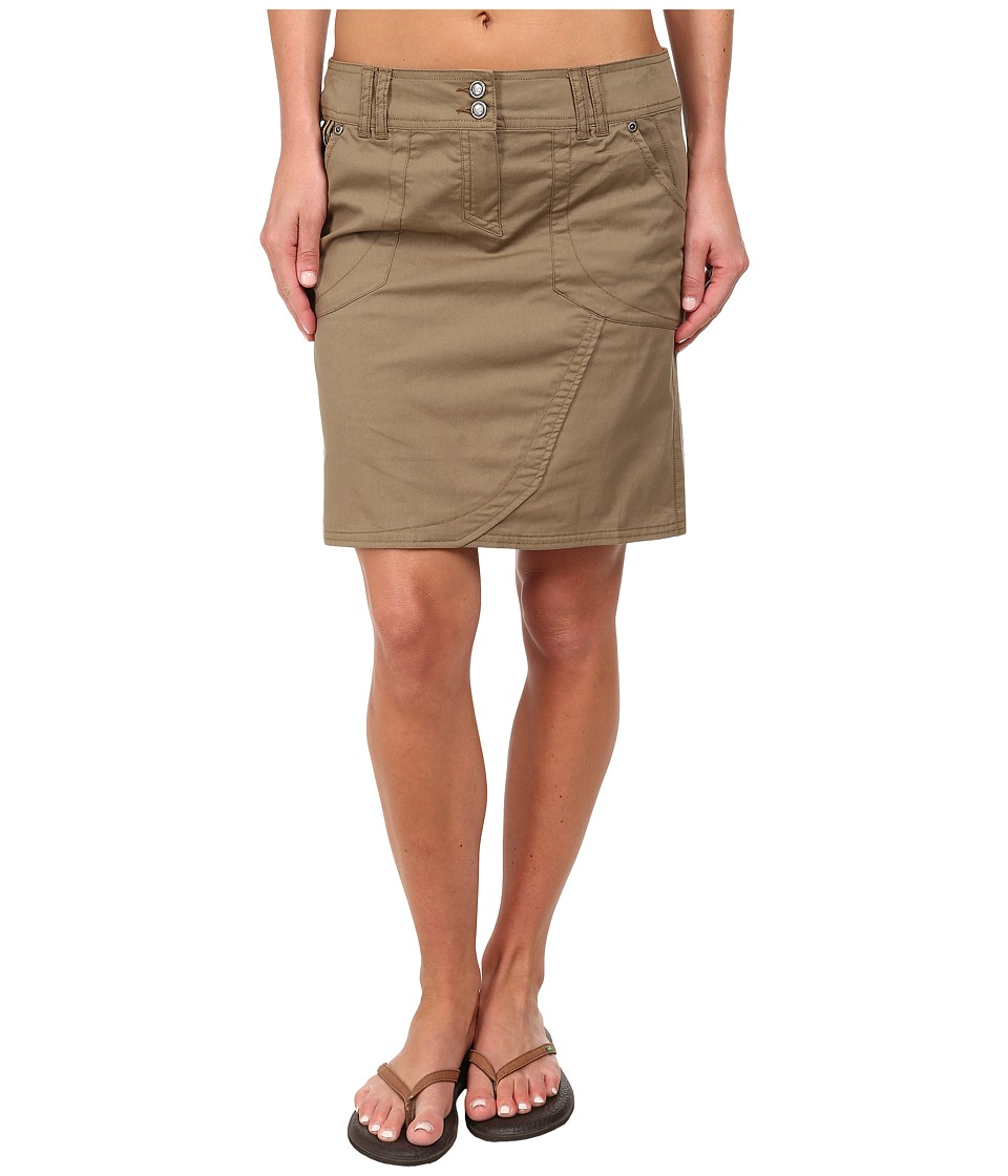 ExOfficio - Gazella Skirt (Walnut) Women's Skirt