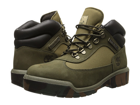 Timberland - Field Boot (Olive Nubuck/Camo Outsole) Men