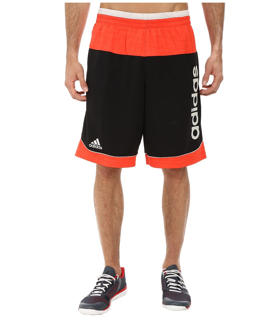 adidas - Future Star Short (Black/Bright Red/Pearl Grey) Men's Shorts