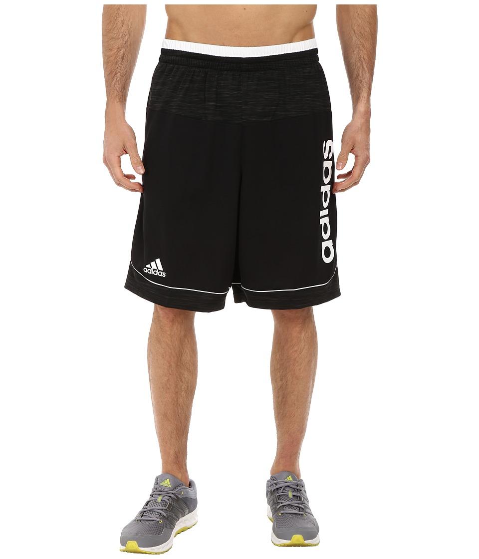 adidas - Future Star Short (Black/Black/White Multi Snake) Men's Shorts