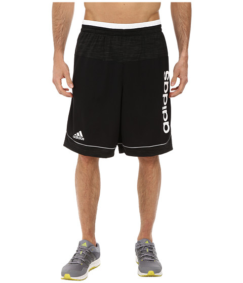 adidas - Future Star Short (Black/Black/White Multi Snake) Men's Shorts