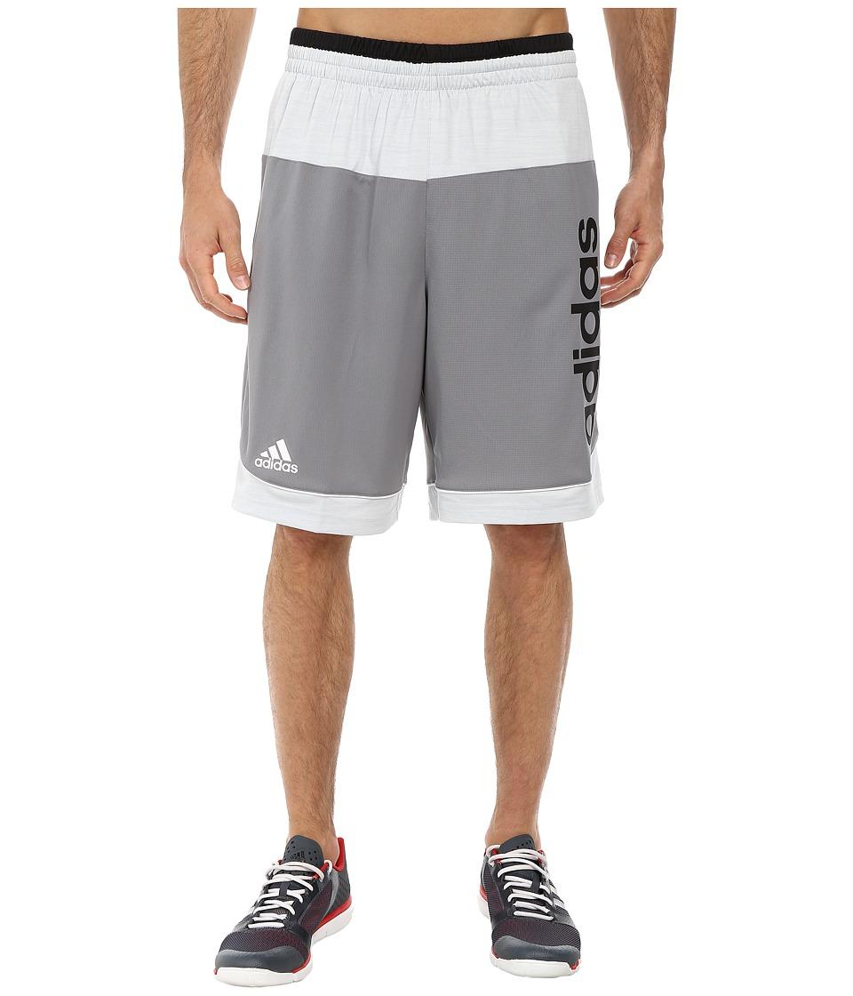adidas - Future Star Short (Grey Clear/Grey/Black) Men