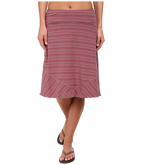 ExOfficio - Go-To Stripe Skirt (Mod/Cement) Women