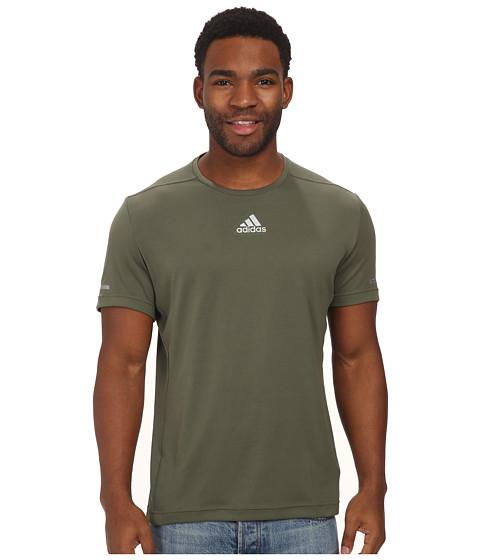 adidas - Sequencials Money S/S Tee (Base Green) Men