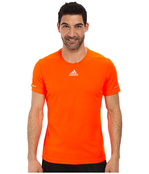 adidas - Sequencials Money S/S Tee (Solar Red) Men's T Shirt