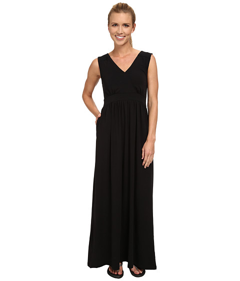 ExOfficio - Go-To Maxi Dress (Black) Women's Dress