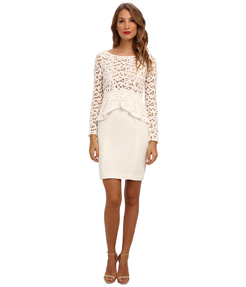 Catherine Malandrino - Solace Dress (Blanc) Women