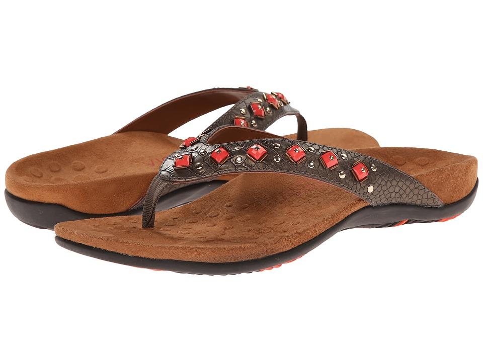 VIONIC - Floriana (Bronze Croco) Women's Sandals