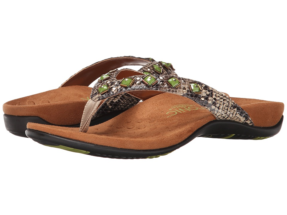 VIONIC - Rest Floriana (Natural Snake) Women's Sandals