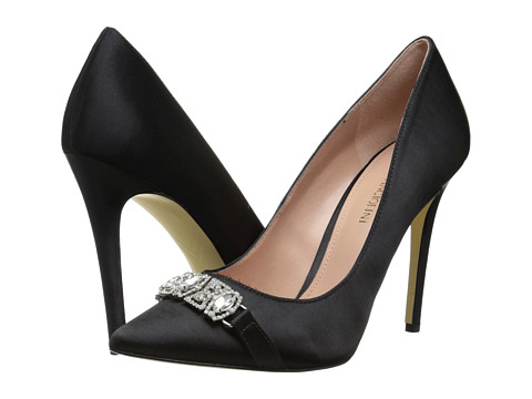Enzo Angiolini - Feeney (Black Fabric) High Heels
