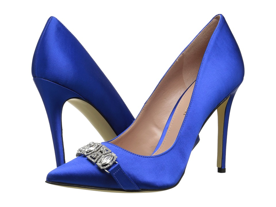Enzo Angiolini - Feeney (Blue Fabric) High Heels