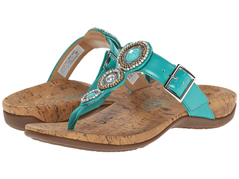 VIONIC with Orthaheel Technology - Adelie (Aqua) Women's Sandals