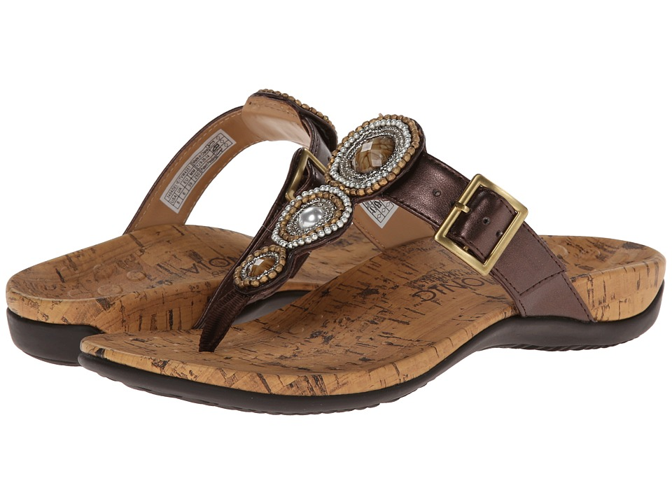 VIONIC with Orthaheel Technology - Adelie (Bronze) Women's Sandals
